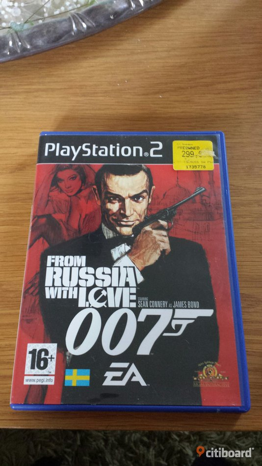 James Bond: From Russia With Love 007