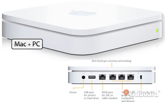 Wi-Fi Router Apple AirPort Extreme (4th generation)