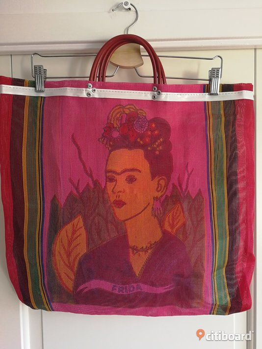 shoppingväska Frida Kahlo shoppingbag Mode Stockholm Sälj