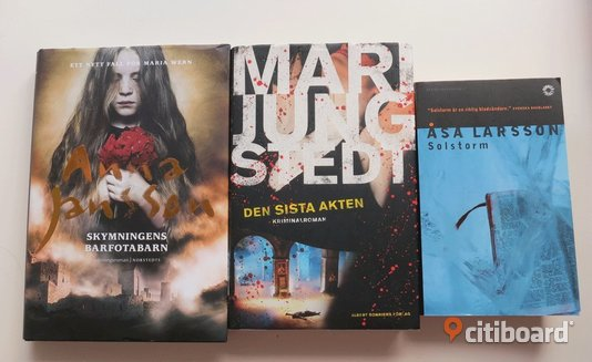 Pocket Anna Jansson /Mari Jungsted / Åsa Larsson Partille