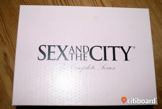 Sex and the city box Elektronik Halland Halmstad