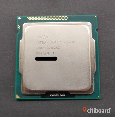 Intel Core i5-3570K Processor Karlstad