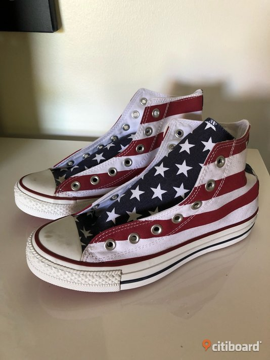 Stars and stripes Converse 38-39 Vardag & sneakers Tranås