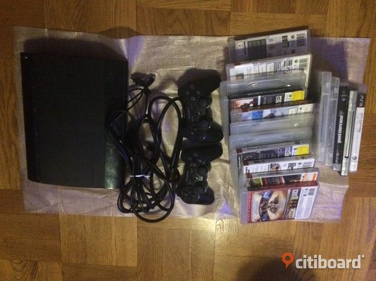 Ps3 super slim 12 gb Huddinge