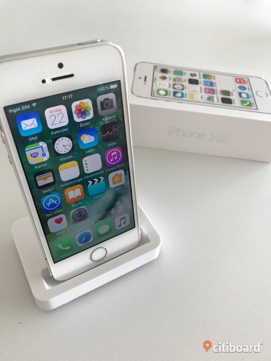 Iphone 5S (vit, 32Gb)