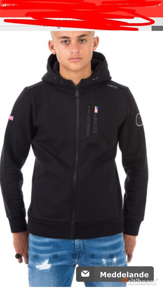 Ny modell av sail racing hoodie 52-54 (L) Mode Norrköping