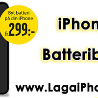 IPhone Batteribyte i Avenyn Göteborg
