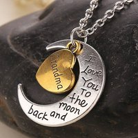 I love you to the moon and back halsband
