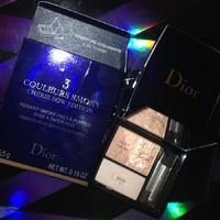 DIOR 3 Couleurs Eyeshadow READY-TO-WEAR SMOKY EYES PALETTE Cherie Bow - Limited Edition