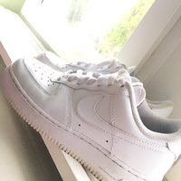 hot sale online c1c27 113d5 Svarta nike air force låga, dam - Halmstad - citiboard