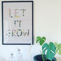 Poster - Let it grow
