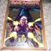 Iron Maiden Spegel