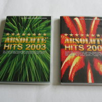 Absolute Hits 2003 & 2004. 2 st Dvd's.