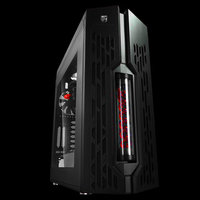 Datorchassi - GAMER STORM Genome II Black & Red Double-Helix Edition.