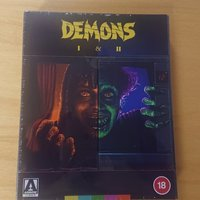 Demons 1-2 arrow blueray
