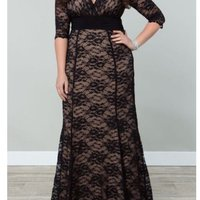 Plus size evening dress size 46-48