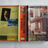 Once Upon A Time In America. Dubbel-Vhs-box. Ex Rental.