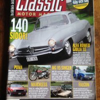 CLASSIC Motor Magasin.  nr 11, 2004