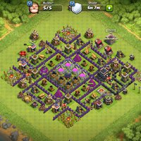 Clash of clans Townhall 9 level 92