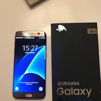 Samsung S7 edge gold platinum