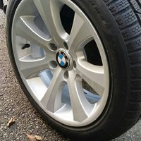 Bmw orginal fälgar 17""
