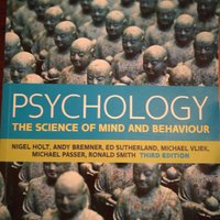 Kurslitteratur Nigel holt psychology the science of mind and behaviour 3rd ed
