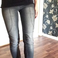 Jeans Jeggings Byxor grå, 34 stretch
