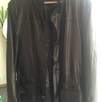 Lotusse leather jacket new condition