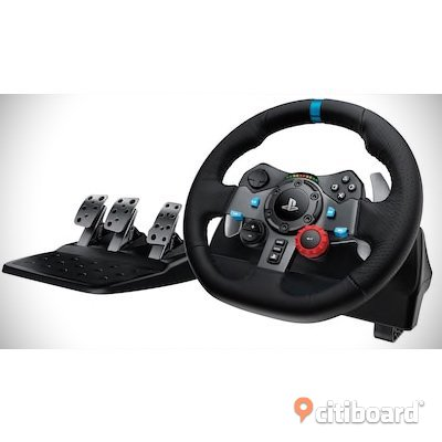 Logitech g29 Driving force, växelspak, 1 bilspel