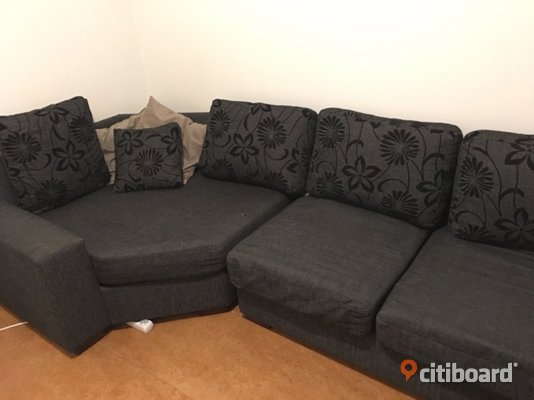 Free Sofa! - Stockholm, Huddinge - Free nice sofa, very comfortable.. condition 7/10, some tears, but can be covered by the pillows. All pillows are included. If interested, take it as soon as possible since I'm moving out soon! I can't provide transport. Location Rö - Stockholm, Huddinge