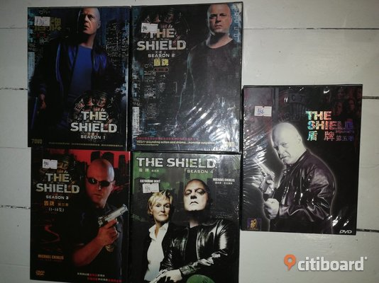 The Shield DVD & VHS filmer Borås / Mark / Bollebygd