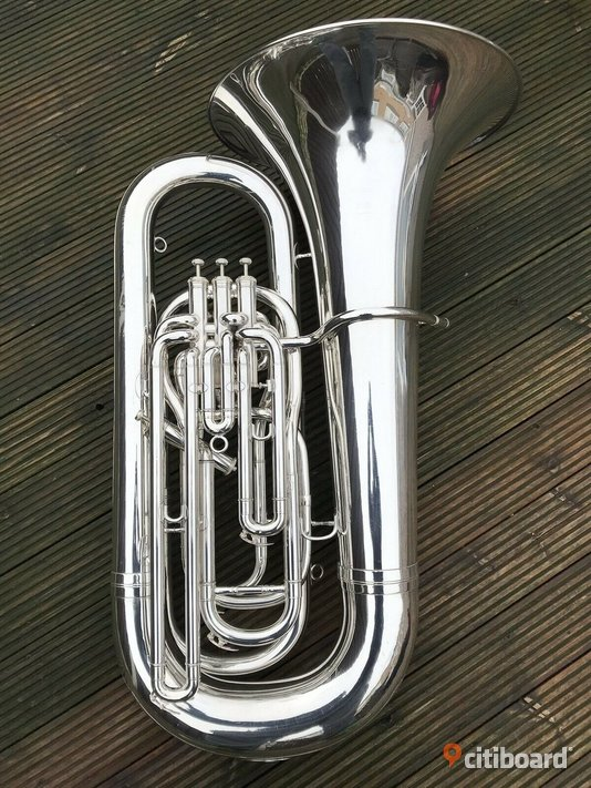 Besson Sovereign BE994-2 BBb Tuba-Silver Musikinstrument Töreboda