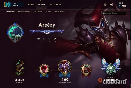 League of legends konto DIAMOND 5 Kumla