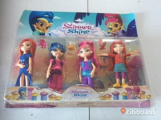 SHIMMER AND SHINE 4 ST  FIGURER 16 CM  Uppsala
