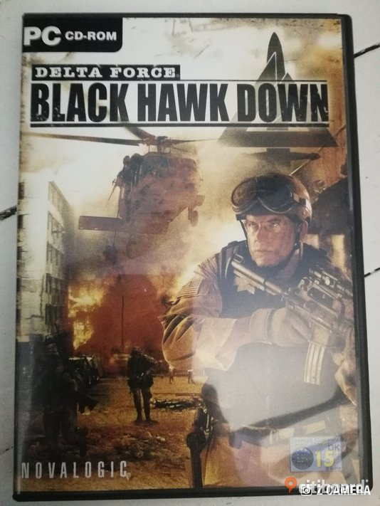 "PC-spel "" Delta force black hawk down "" Borås / Mark / Bollebygd"