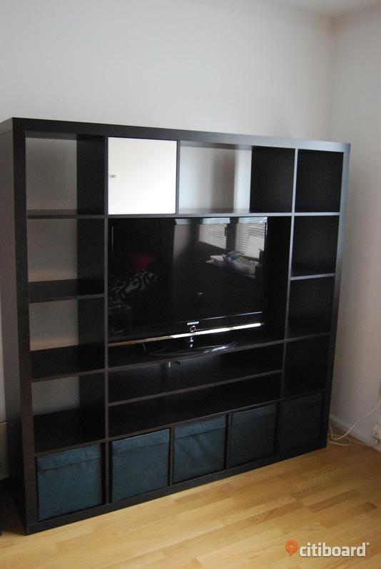 ikea expedit tv m bel bokhylla uppsala citiboard. Black Bedroom Furniture Sets. Home Design Ideas