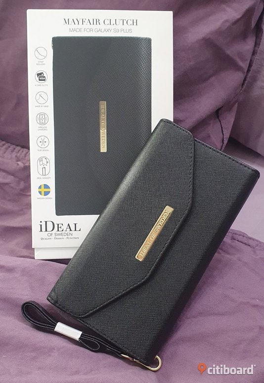Ideal of Sweden - Mayfair Clutch, Samsung S9+ (Mobilfodral/Plånbok) Mode Södermanland Gnesta