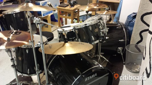 Tama Imperialstar Ltd. 7-piece Set - Dubbel Baskagge