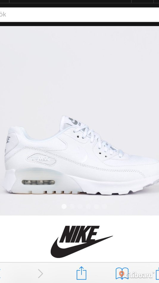 Nike skor air max 90 Ultra Essential white Borås Mark