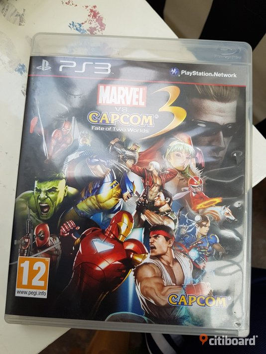 PS3 spel  Marvel VS Capcom 3 Fate Of Two Worlds - Uppsala, Älvkarleby - PS3 spel  Marvel VS Capcom 3 Fate Of Two Worlds - Uppsala, Älvkarleby
