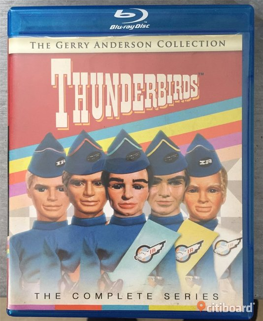 Thunderbirds, The complete series - Blu-ray - 6 disc - Gerry Anderson  Falun / Borlänge