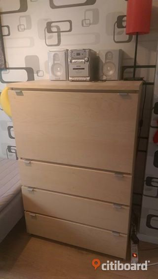 ikea malm sekret r skrivbord byr i bj rk lmhult citiboard. Black Bedroom Furniture Sets. Home Design Ideas