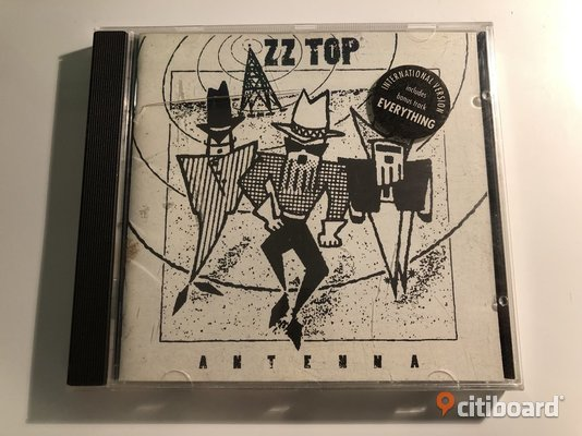 CD - ZZ Top - Antenna CD & LP skivor Göteborg