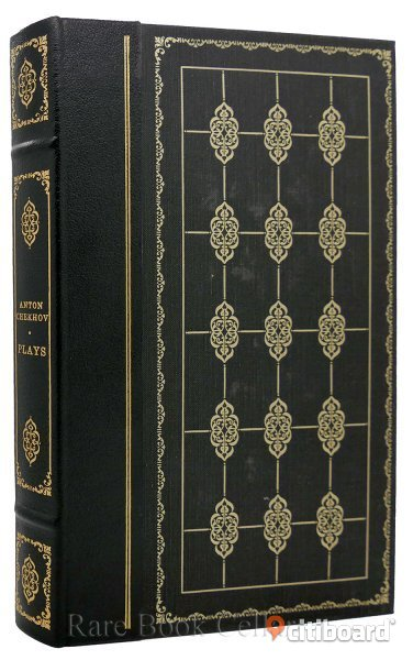 SAL! Anton Chekhov: GREATEST PLAYS in Franklin Library edition - Stockholm, Stockholm - Greatest Plays by Anton Chekhov. Translated by Elisaveta Fen. Illustr:d by Stan Hunter. THE FRANKLIN LIBRARY 1979. Leather bound. 274 pps. 8:o. All pages gilt edged. Beautiful gold design on covers and spine. Very fine condition. Co - Stockholm, Stockholm