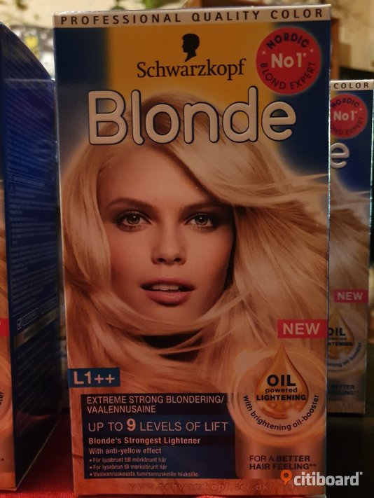 Schwarzkopf Blonde L1++ Extreme Lightener 143 ml  Mode Gagnef