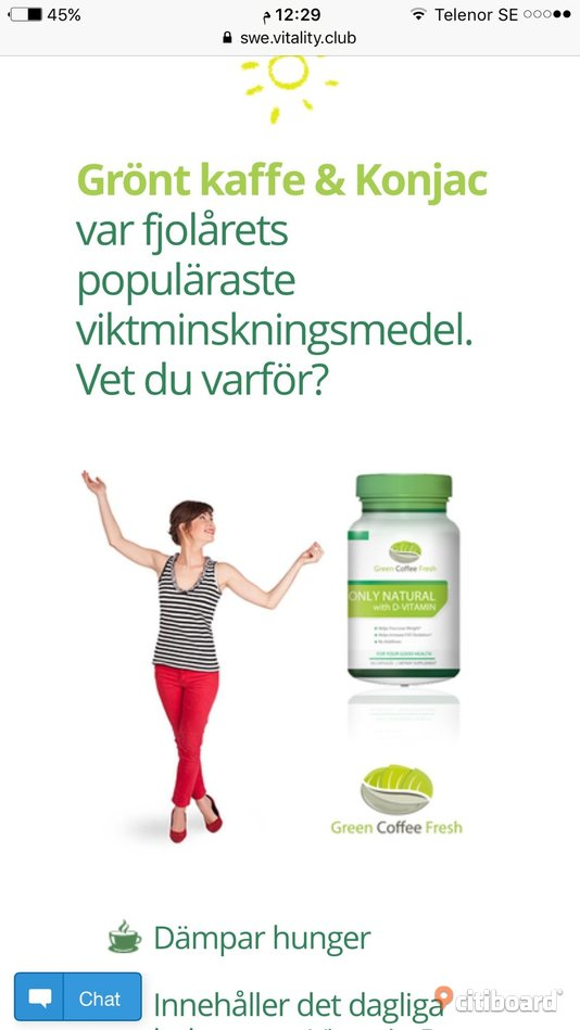 Green coffee gå ner i vikt