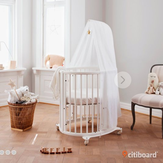 Stokke sleepi mini + sleepi extension kit. Nyskick - Stockholm - citiboard