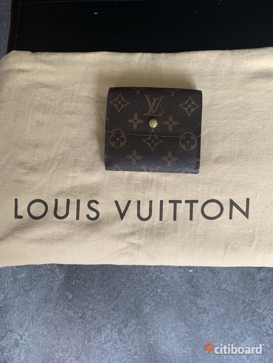 louis vuitton plånbok vintage monogram canvas Botkyrka Sälj
