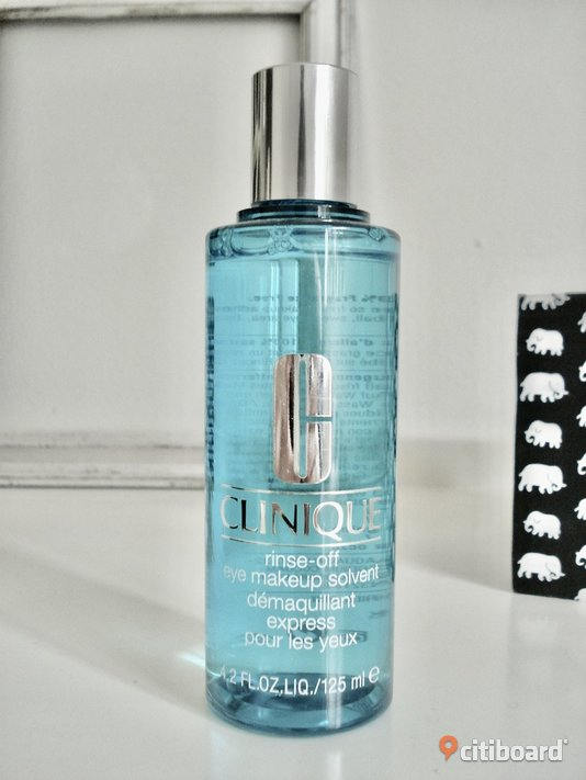 CLINIQUE - Rinse-Off Eye Makeup Remover! 125 ml! Värde 220:-! Ny! Malmö Sälj