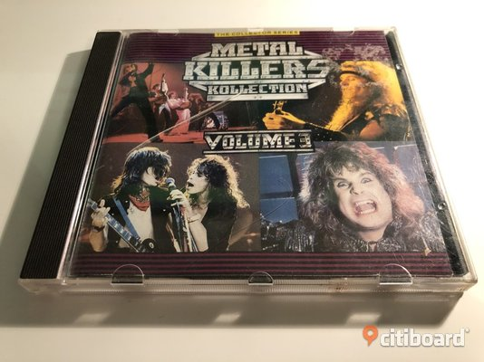 CD - Metal Killers Collection CD & LP skivor Västra Götaland Göteborg